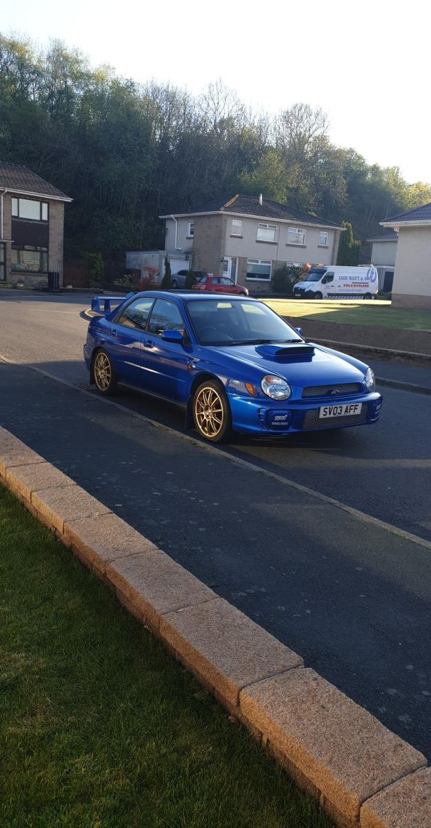 My 2003 bug eye Subaru wrx